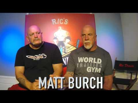 Matt Burch  Operation Repo , Bodybuilder, pro wrestler, acto