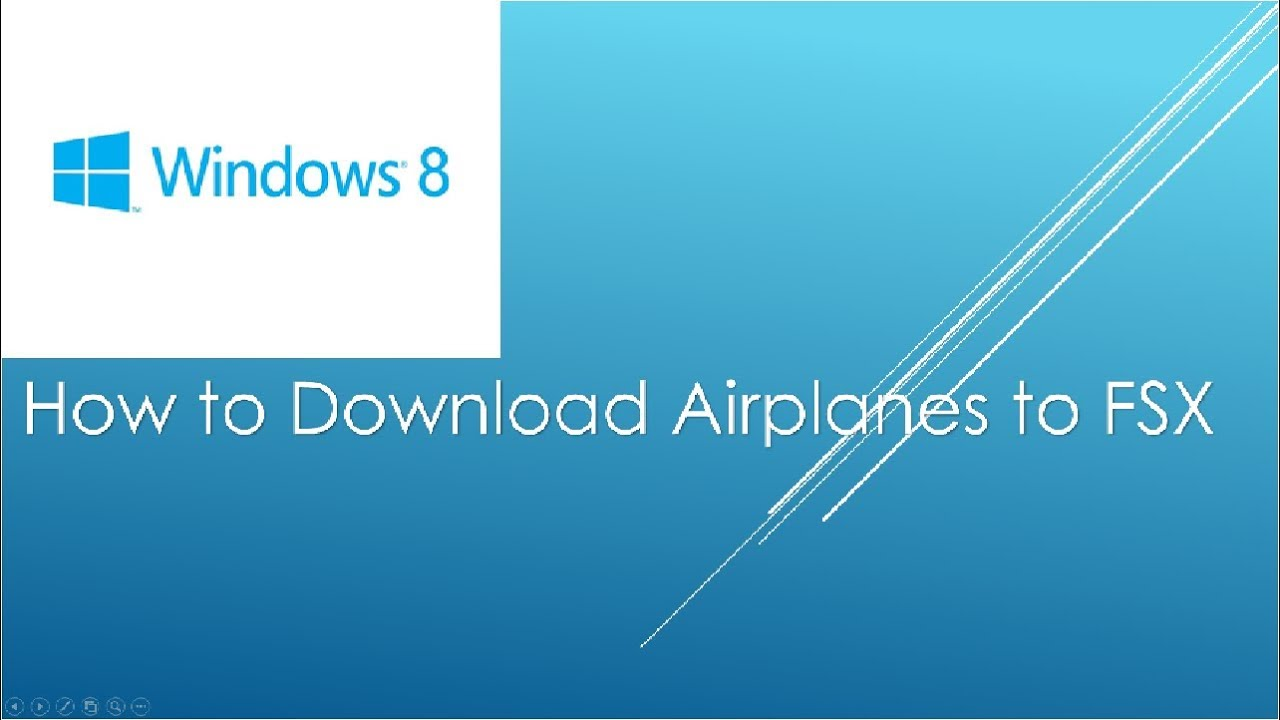 How to download planes fsx