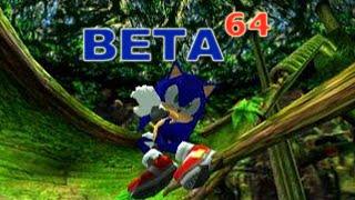 Beta64 - Sonic Adventure 2