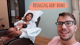 BRINGING BABY HOME FROM HOSPITAL!
