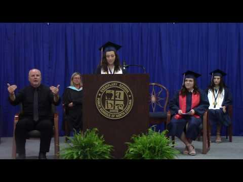 2020 East Gaston High School Graduation
