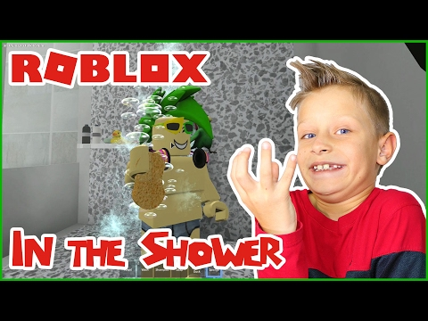 Enjoying Life in the Shower / Roblox Shower Simulator
