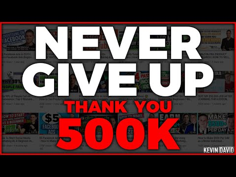 If You Feel Like Quitting WATCH THIS FIRST... (Thank You for 500,000!)