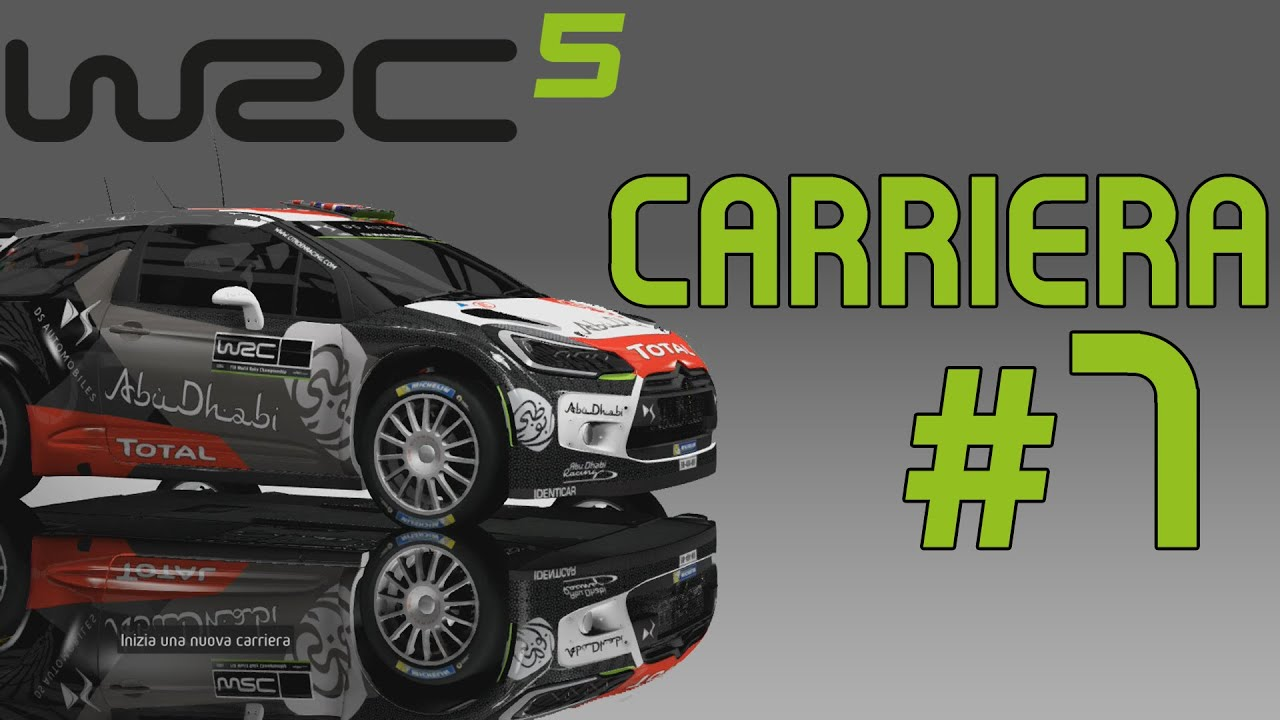 wrc 5 gameplay ita walkthrough carriera 7 non vedo. Black Bedroom Furniture Sets. Home Design Ideas