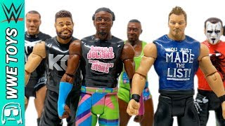 WWE Tough Talker Total Tag Team Toy Series Unboxing & Review!! Sting, Jericho, New Day & MORE!!