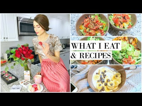 WHAT I EAT IN A WEEKEND | RECIPES & VLOG (vegetarian)