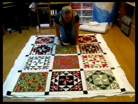 Finishing Your Quilt - Basting - Part 1 Of 3
