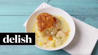 How To Make Slow-Cooker Chicken Pot Pie  Delish