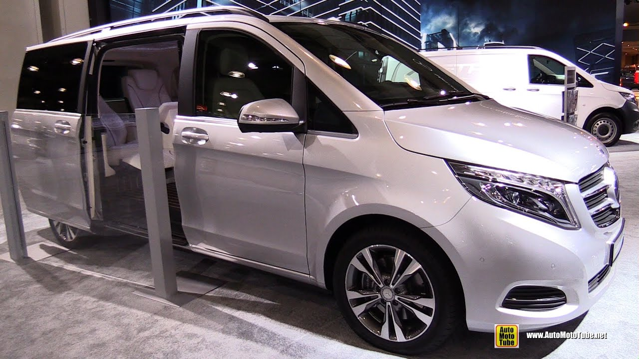 2016 Mercedes Benz Metris Passenger Van   Exterior And Interior Walkaround    2015 New York Auto Show   YouTube