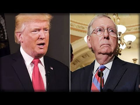 JUDGMENT DAY: TRUMP JUST ISSUED THE DEATH SENTENCE TO MITCH MCCONNELL THAT JUST SET THE GOP ON FIRE
