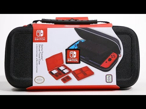 Classic Game Room - NINTENDO SWITCH DELUXE TRAVELER CASE rev