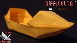 [ORIGAMI ITA] Barca Sampan || Origami Per Bambini o Principianti (E Non Solo!)