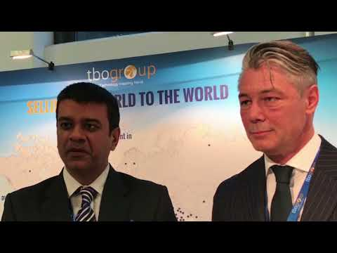 Ankush Nijhawan, co-founder, and Patrik Birkhofer, commercial director, Europe, TBO Holidays