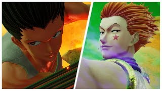 Jump Force - Gon Freecss and Hisoka Morow All Super and Ultimate Attacks