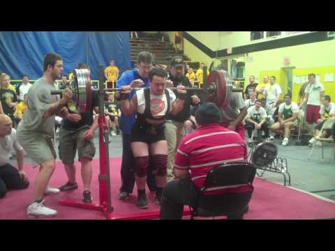 John Downing NASA Powerlifting Meet