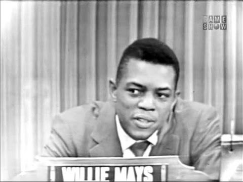 What's My Line? - Willie Mays; Jack Paar [panel] (Jul 11, 1954)