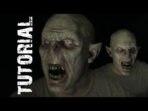 Orc Foam Prosthetic 3 Piece Tutorial Self Application HD