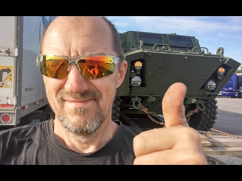 Heavy Haul TV: Episode #444 -- Helping Out Canadian Army