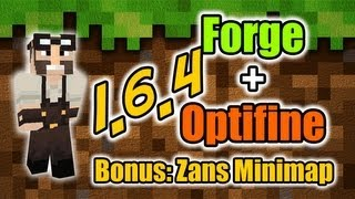 Como Instalar Forge + Optifine 1.6.4 sem Crash