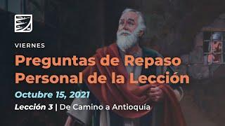 Viernes 15 de Octubre   Leccion de Escuela Sabatica    Pr  Orlando Enamorado
