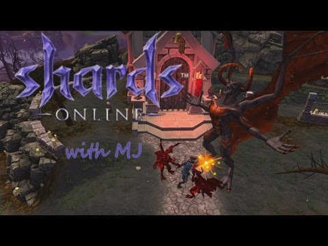 Shards Online stress test with MJ: Attack of the PKing dev