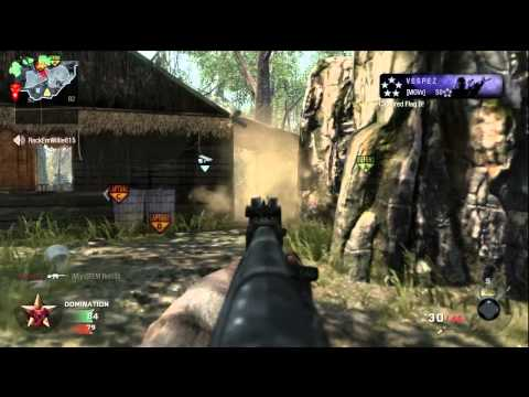 Call of Duty Black Ops - Jungle - Domination (56-4) No Commentary - IzDivine