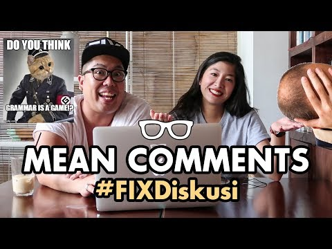 FIXDiskusi: Mean Comments!