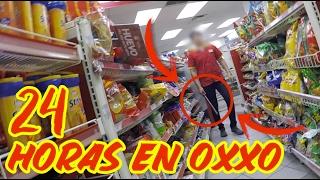 24 HORAS EN UN OXXO RETO TERMINA MAL | GUATSI