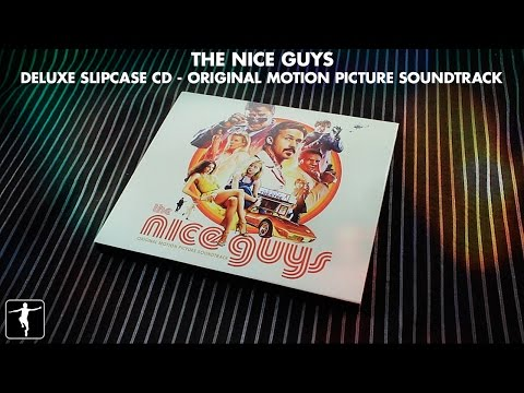 The Nice Guys - Deluxe Slipcase CD Unboxing | Lakeshore Records