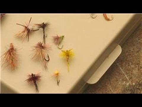 Fly Fishing Equipment & Tips : Types of Fly Fishing Flies