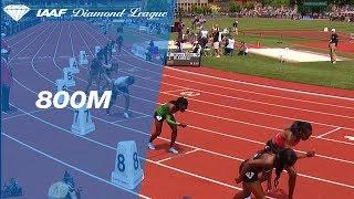 Caster Semenya Wins Women's 800m - IAAF Diamond League Eugene 2018