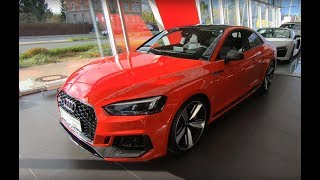 AUDI RS5 COUPE COMPILATION 2: MISANO RED + SONOMA GREEN ! NEW MODEL ! WALKAROUND + INTERIOR !