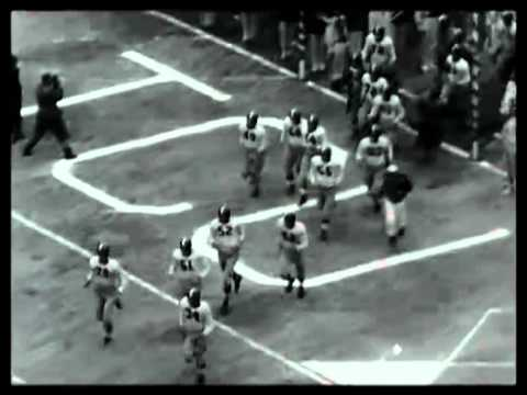 Football Bowl Games 1952