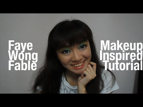 Lavine's Faye Wong Makeup Inspired Tutorial