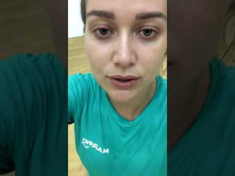 Maria Pinna jogando Squash (20/01/2017)