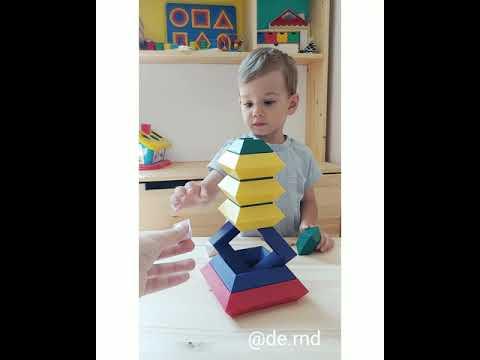 Пирамидка конструктор
