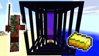 AFK Overworld Gold Farm! - Minecraft Tutorial