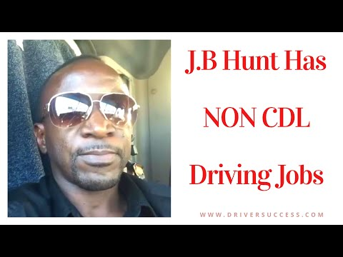 Repeat NON CDL Driving Jobs With J B Hunt by Driver Success