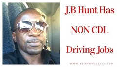 NON CDL Driving Jobs With J.B Hunt