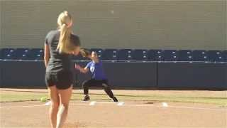 Softball Pitching Drills: Accuracy and Change-up - Amanda Scarborough