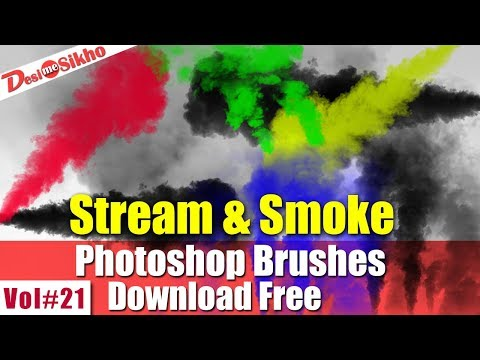 Stream And Smoke Brushes Effect For Photoshop Download Free Vol#21 [desimesikho] 2018