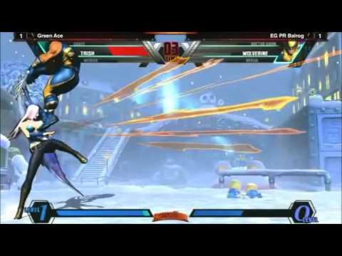 UMvC3 Green Ace vs EG PR Balrog   FT 7 CEO2013
