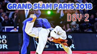 PARIS GRAND SLAM 2018 | TOP IPPONS | Day 2