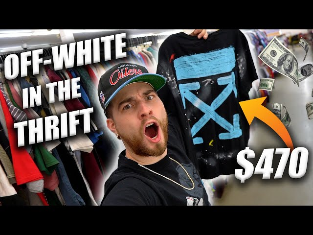 I FOUND OFF-WHITE IN THE THRIFT! $470 | Trip to the Thrift #331
