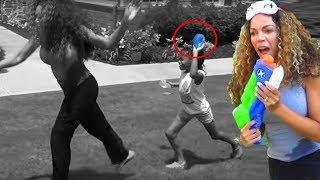 Fun Sisters Pretend Playing + Summer Water Kids Fun w/ Bunch O Balloons