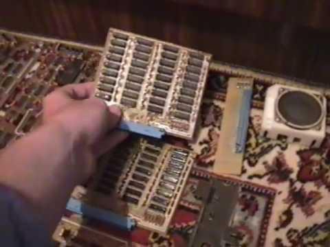 Какими были компьютерные компоненты 25 лет назад (Part of my first IBM compatible PC)