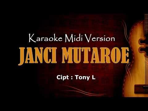 Jancimu Taroe | Karaoke musik Version Keyboard + Lirik tanpa vokal