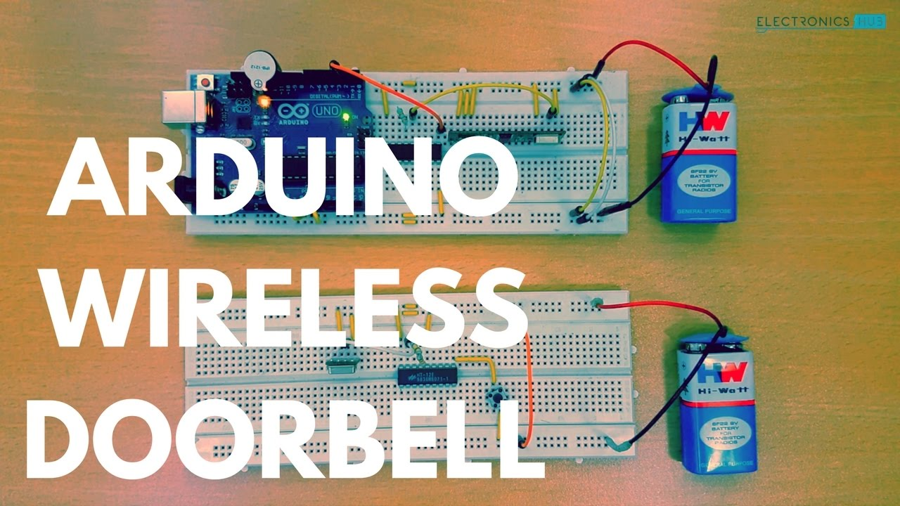 arduino wireless doorbell youtube