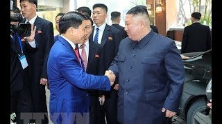 Hành trình của ông Kim Jong Un từ Đồng Đăng về Hà Nội