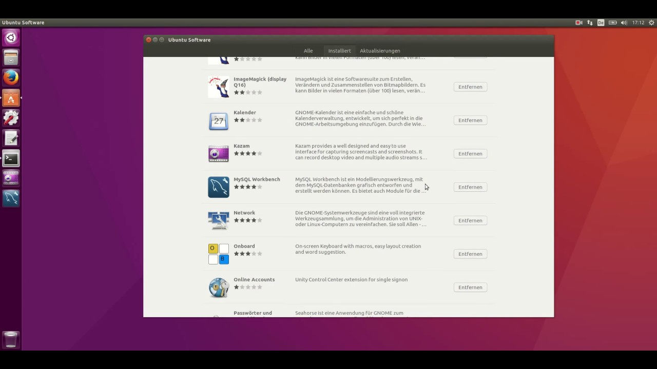 Installation MySQL-Workbench unter Ubuntu 16 04 LTS